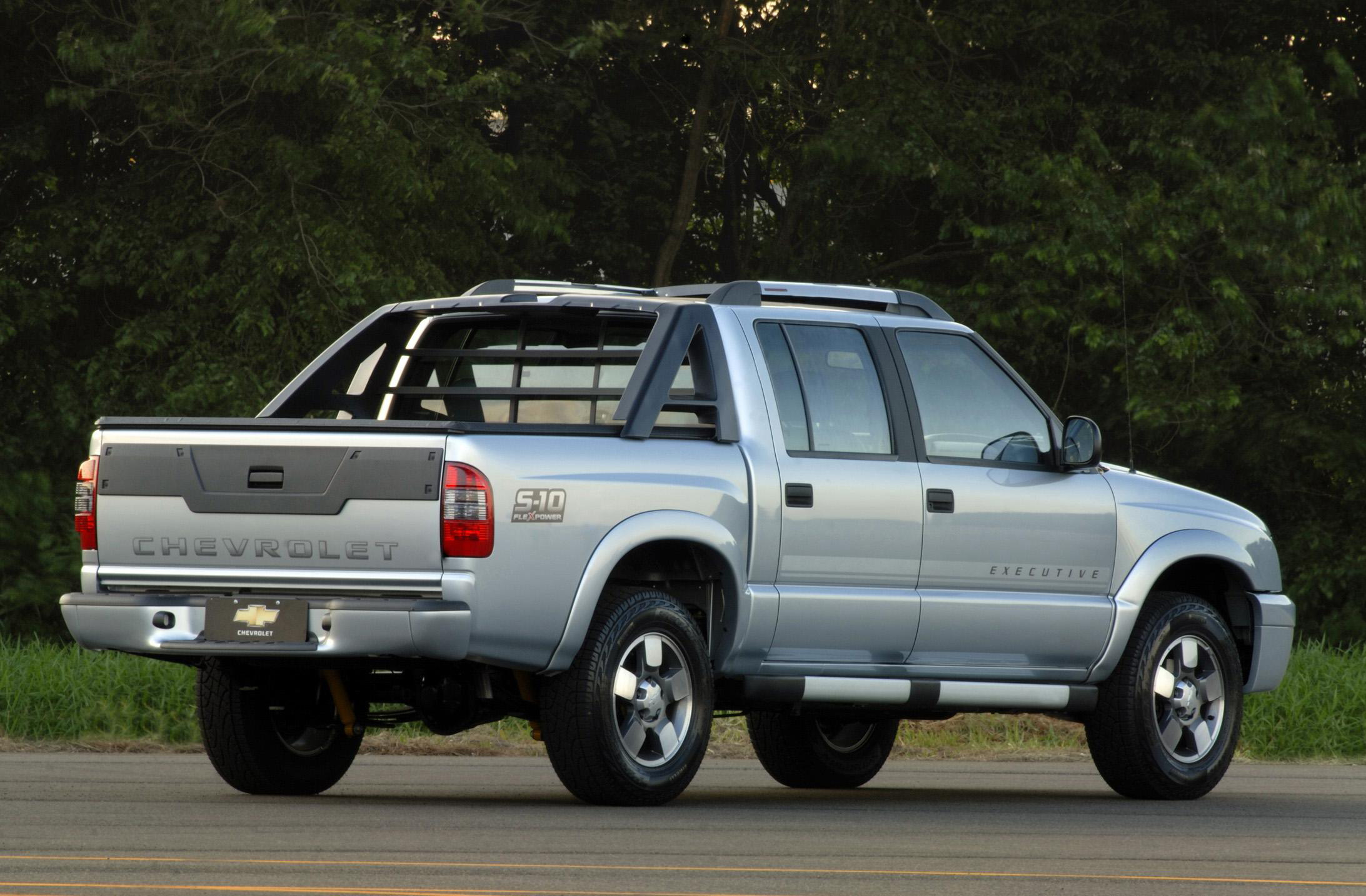 chevrolet s10 executive flexpower cabine dupla 2009 all the cars. Black Bedroom Furniture Sets. Home Design Ideas