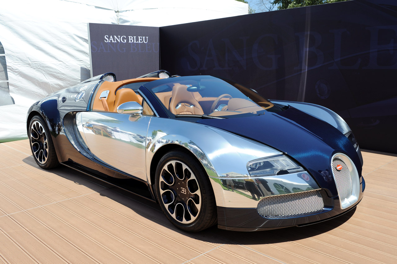 bugatti veyron grand sport sang bleu em imagens ao vivo all the cars. Black Bedroom Furniture Sets. Home Design Ideas