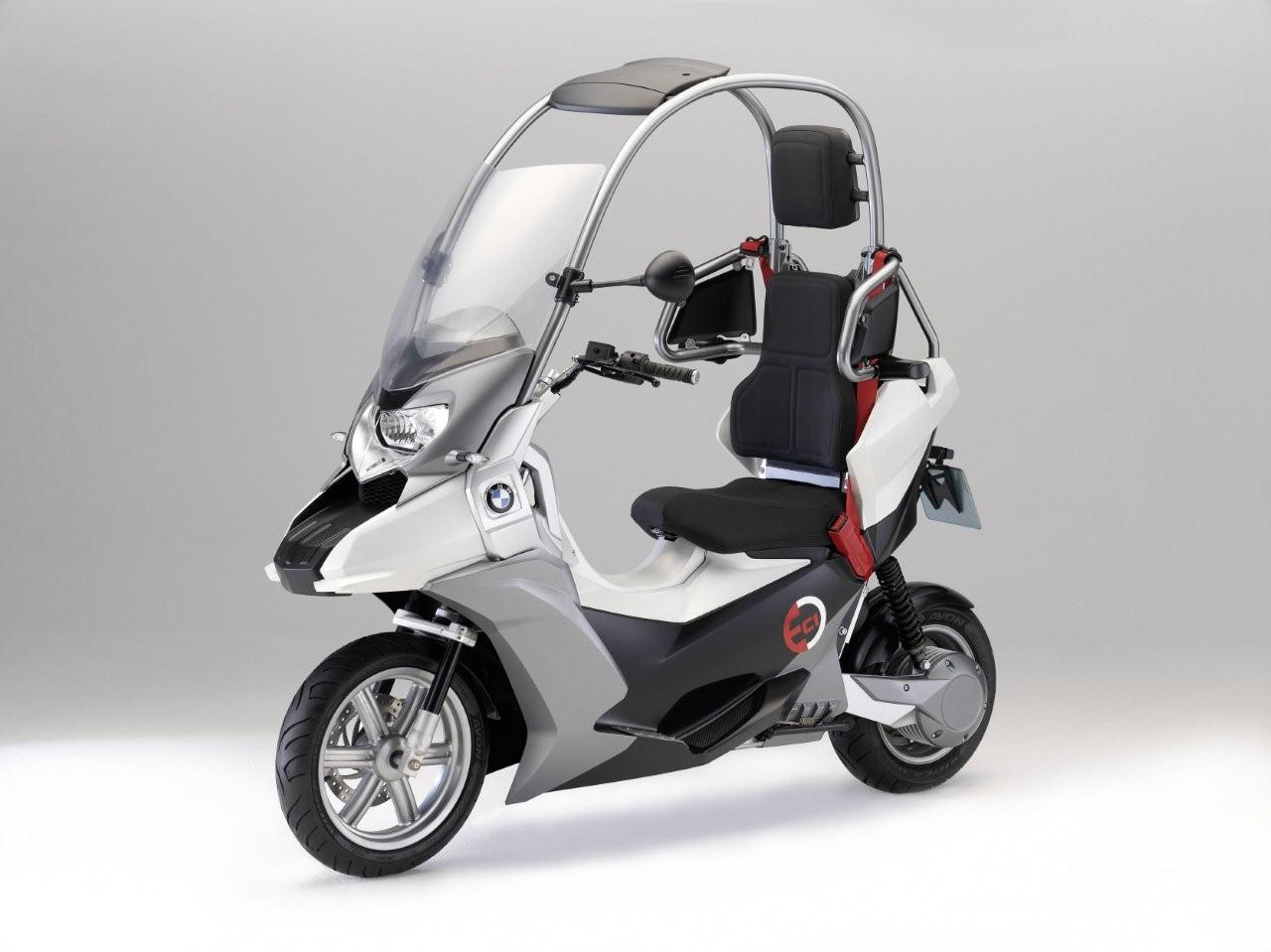 89e2844cd5e BMW C1-E  moto coberta e movida a eletricidade – ALL THE CARS