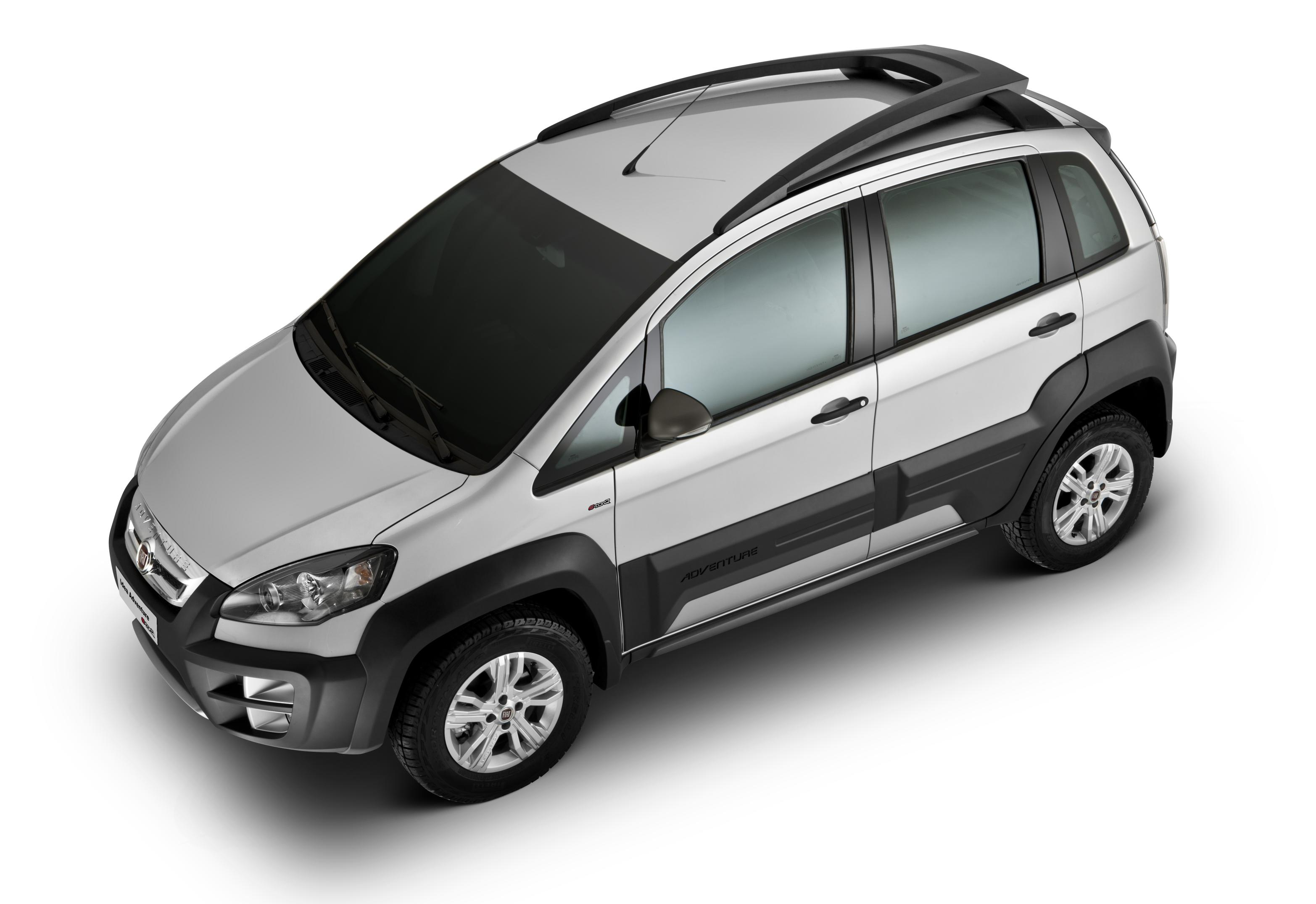 Fiat apresenta idea 2011 all the cars for Paragolpe delantero fiat idea adventure