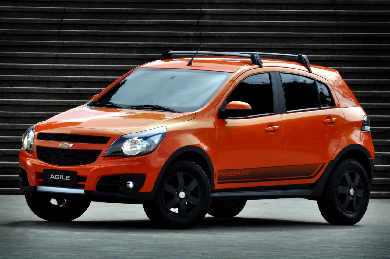 Chevrolet Agile Crosssport – 01 – ALL THE CARS