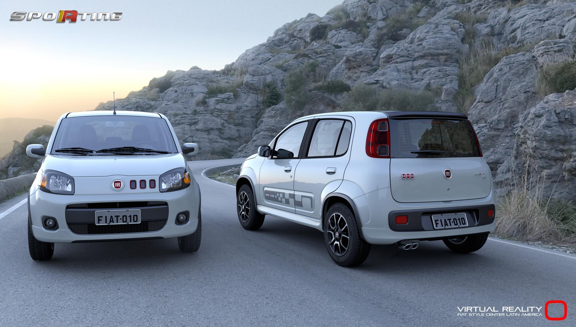 Fiat Uno Tem Vers U00f5es Sporting  Ecology E Cabriolet No Sal U00e3o  U2013 All The Cars