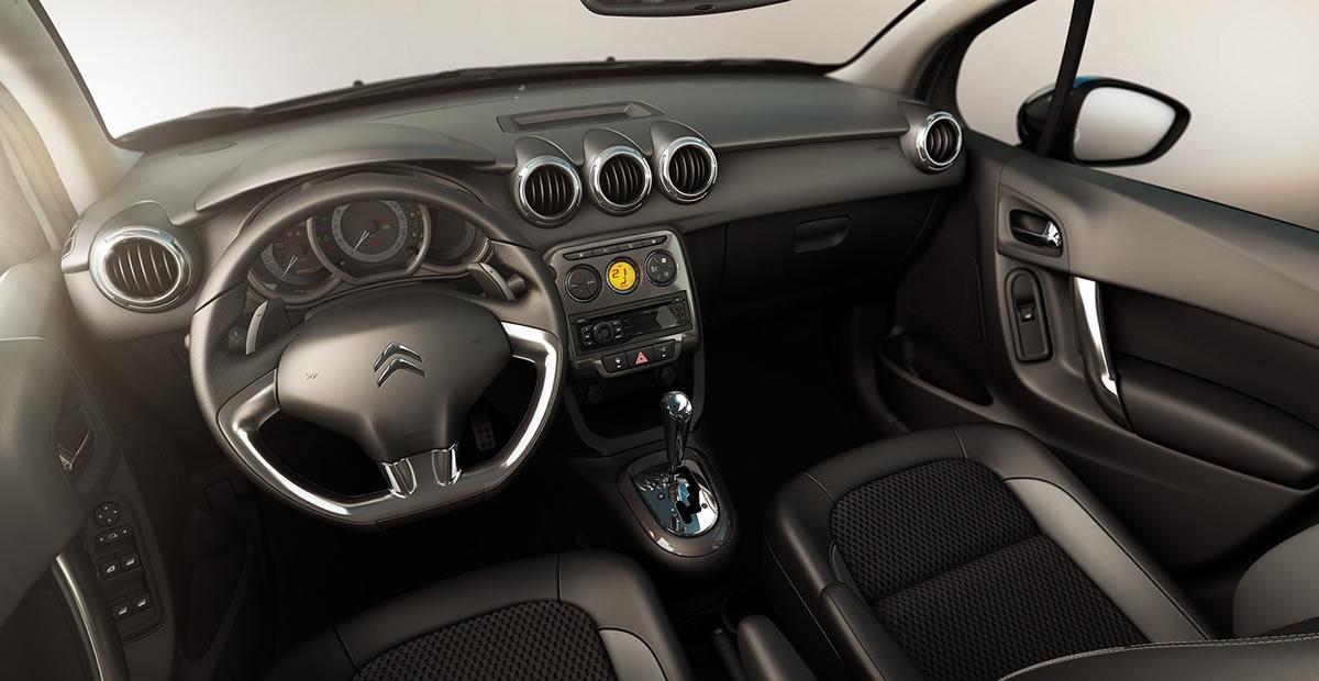 Novo Citroën C3 2013 interior