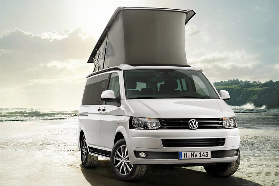 volkswagen apresenta transporter california edition. Black Bedroom Furniture Sets. Home Design Ideas