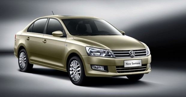 Volkswagen Santana 2013 China 01