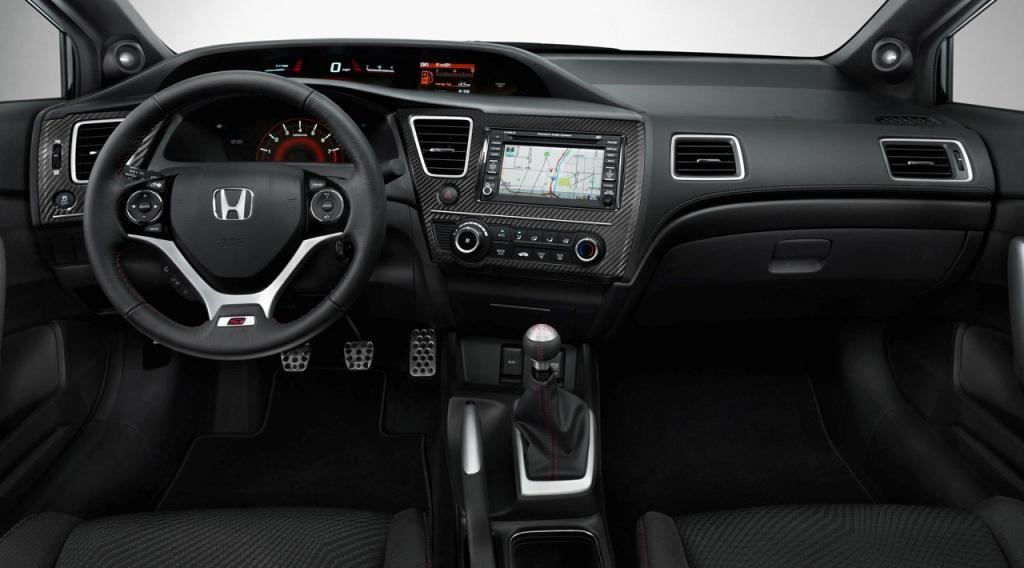 Honda Civic Sedan 2013 EUA Si 03