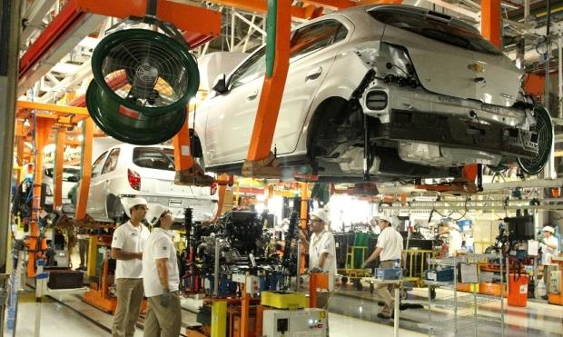 Chevrolet General Motors Gravataí Fábrica Onix