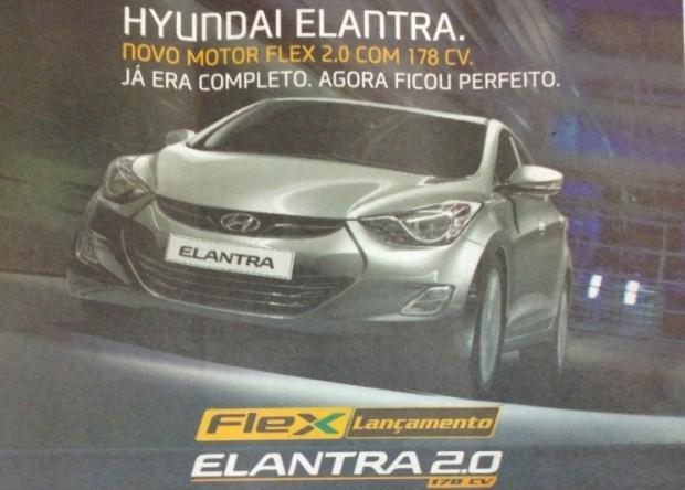 Hyundai Elantra 2.0 Flex Brasil2