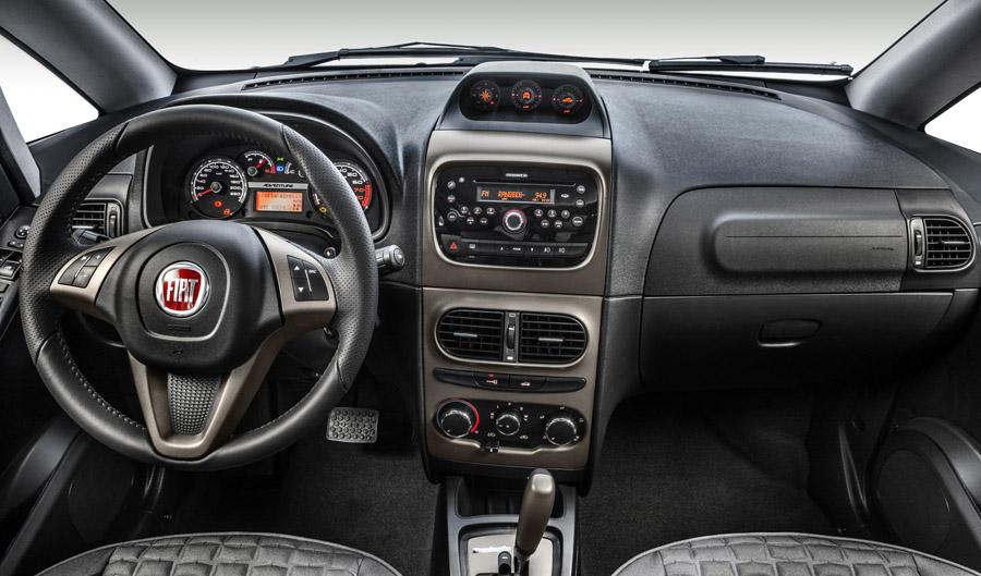 Fiat Idea Chega  U00e0 Linha 2014 Com Retoques