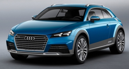 Audi Allroad Shooting Brake Concept 2014 - 01
