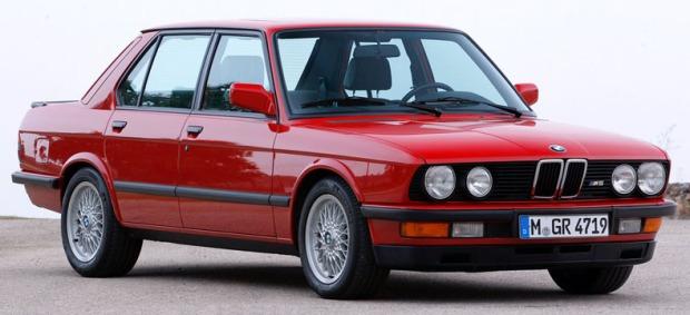 BMW M5 1984 E28 01