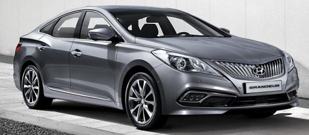 Hyundai Azera Grandeur Coreia do Sul 2015 01