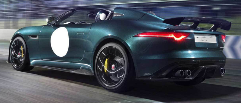 Jaguar F Type Project 7 2