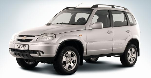 Chevrolet Niva Rússia