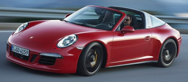 Porsche 911 Targa 4 GTS 2016