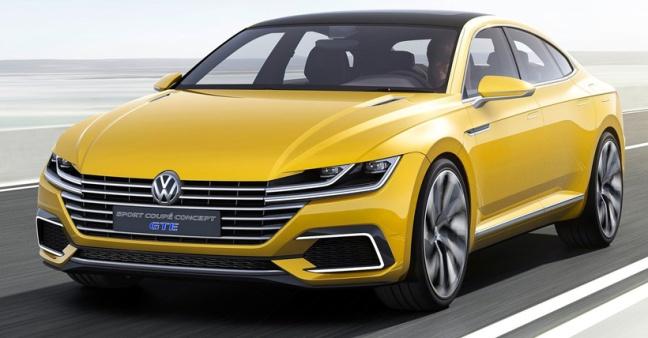 Volkswagen Sport Coupe GTE Concept 1