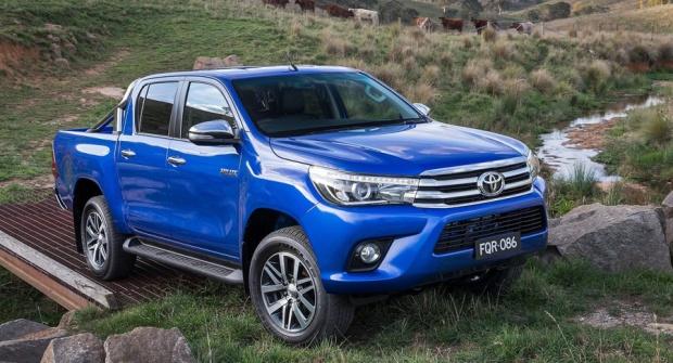Toyota Hilux Austrália 2016 - 01