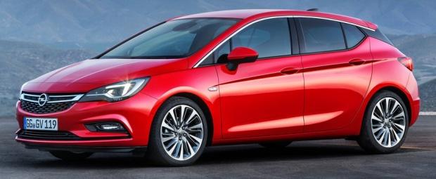 Opel Astra 2016 - 01