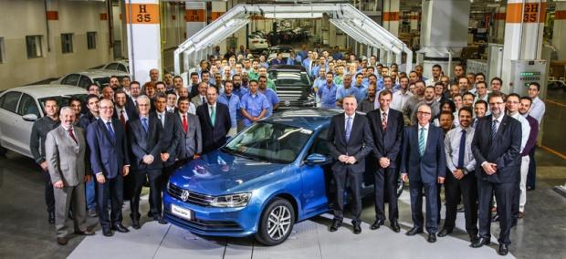 Volkswagen Jetta Brasileiro Fábrica