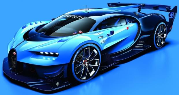 Bugatti Vision Gran Turismo Concept 01