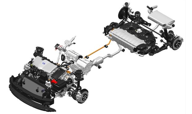 Toyota Prius IV mecânica