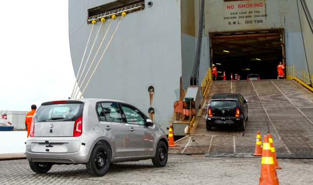 Volkswagen Up Peru exportação