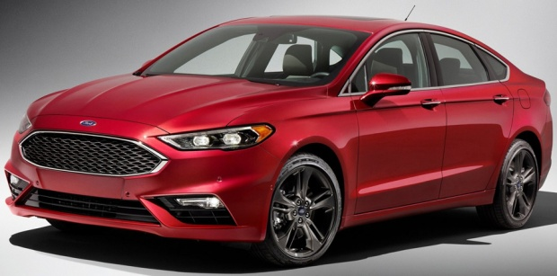 Ford Fusion V6 Sport 2017 - 01