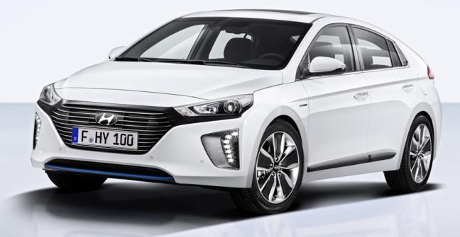 Hyundai Ioniq Hybrid 01