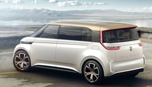 Volkswagen Budd-e Concept 3