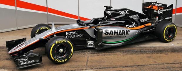 Force India VJM09 F1 2016