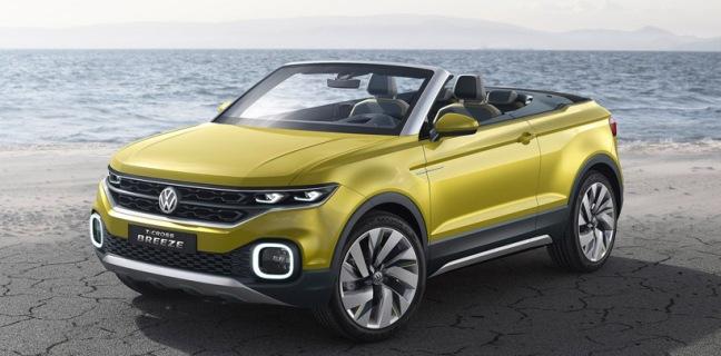 Volkswagen T-Cross Breeze Concept 1