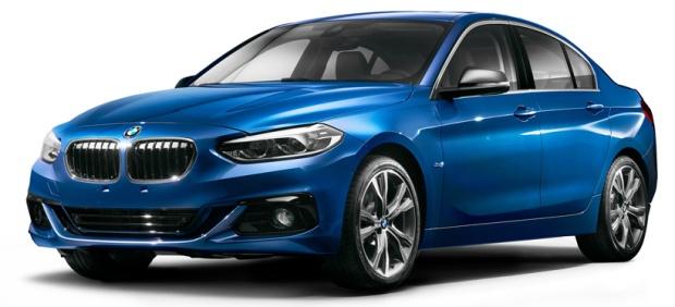 BMW Série 1 Sedan 2017 China 01