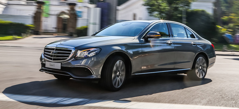 Novo mercedes benz classe e desembarca no brasil all the for Mercedes benz brasil