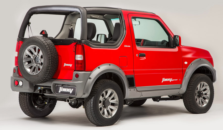 com capota de lona jimny canvas chega por r all the cars. Black Bedroom Furniture Sets. Home Design Ideas