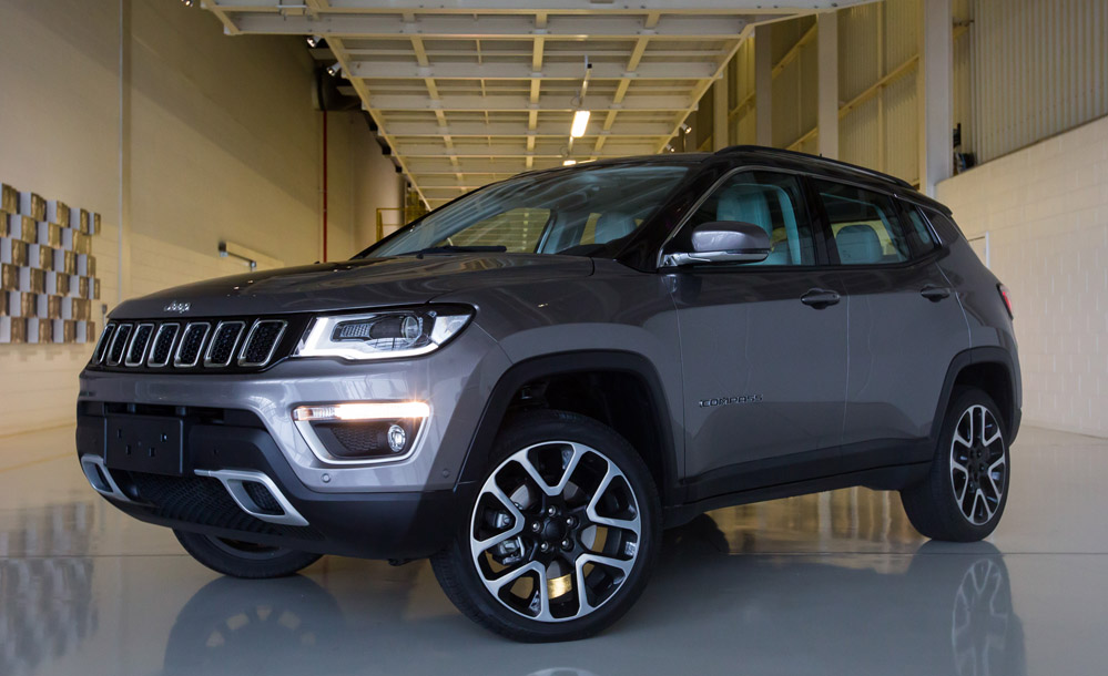 jeep compass tem nova vers o na linha 2018 suv parte de r all the cars. Black Bedroom Furniture Sets. Home Design Ideas