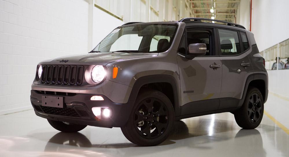 Jeep Renegade tem mudanças em versões e conteúdos na linha ...