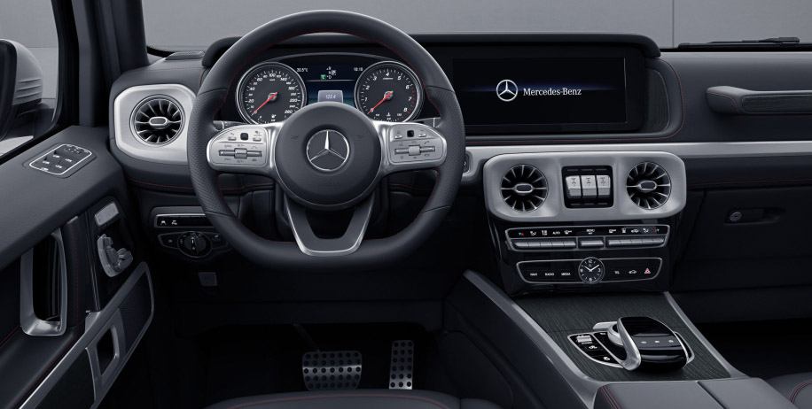 mercedes revela interior do classe g all the cars. Black Bedroom Furniture Sets. Home Design Ideas