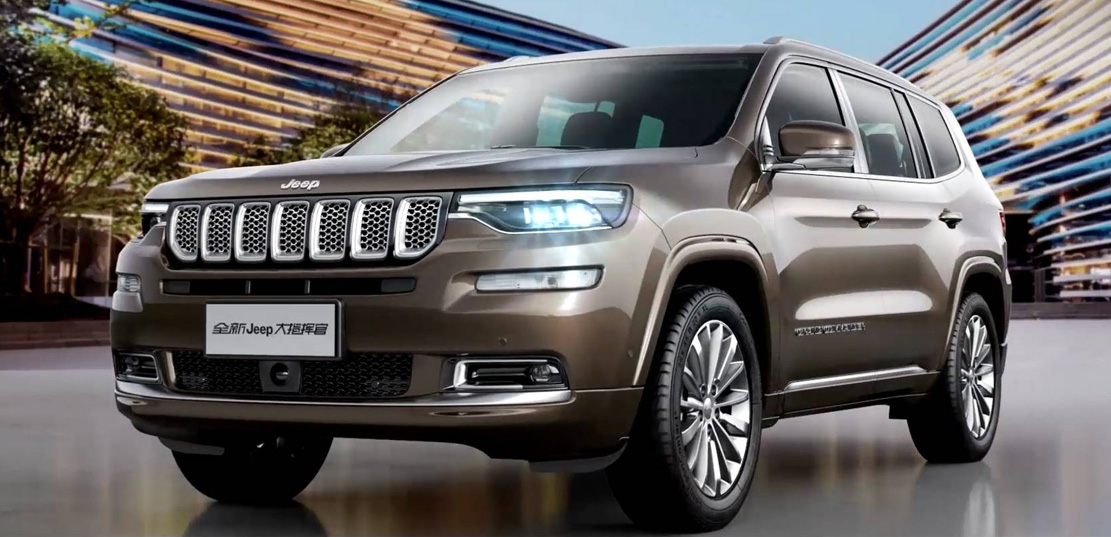 3rd Row Jeep Cherokee >> Jeep oficializa Grand Commander – ALL THE CARS