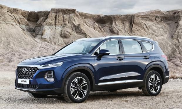 Hyundai Santa Fe 2019 - 01