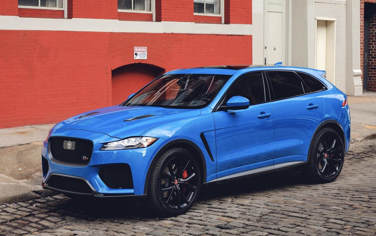 Jaguar F Pace Ganha Versao Svr All The Cars