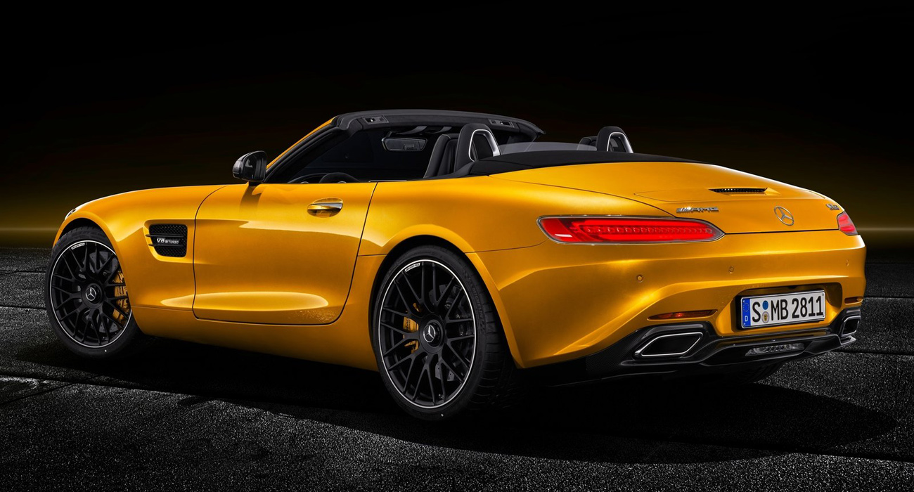Mercedes Lanca Amg Gt S Roadster All The Cars
