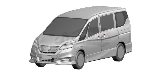 Minivan Nissan Serena tem patente confirmada no Brasil Nissan-serena-brasil-registro-inpi