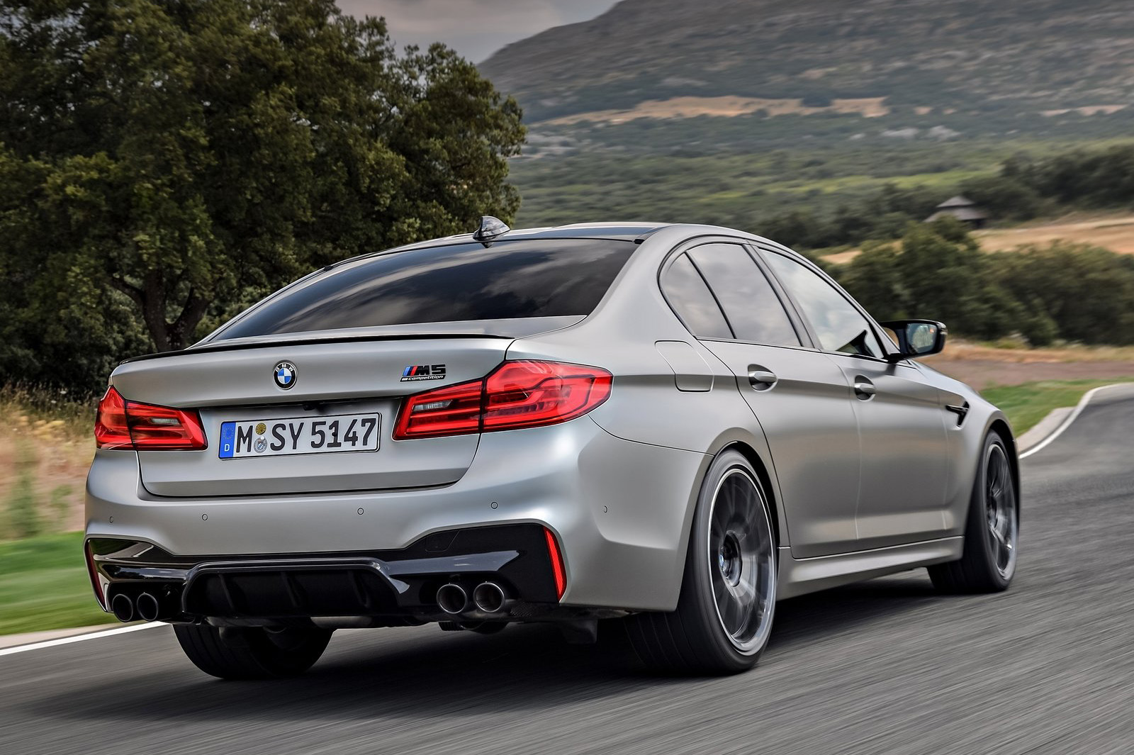 Bmw Apresenta M5 Competition All The Cars