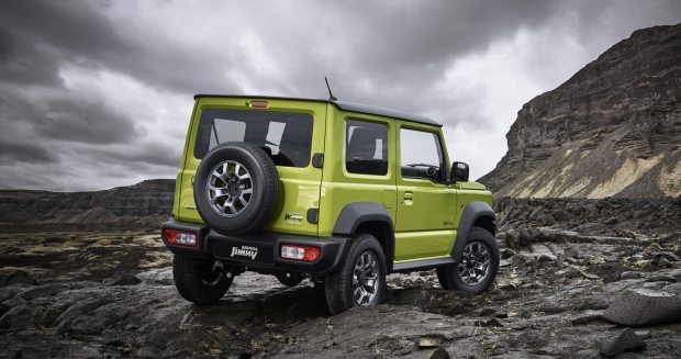 Suzuki Jimny Sierra 2019 Brasil - 01