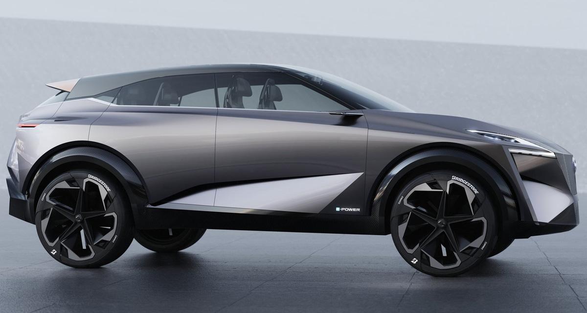 51aac814695 Nissan IMQ também faz prévia de linguagem visual de SUVs em Genebra ...