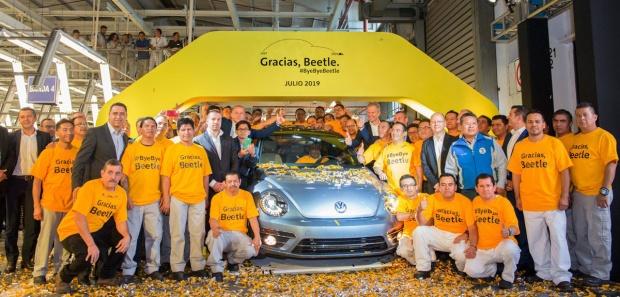 Volkswagen Fusca Beetle Fim México 2019 - 01