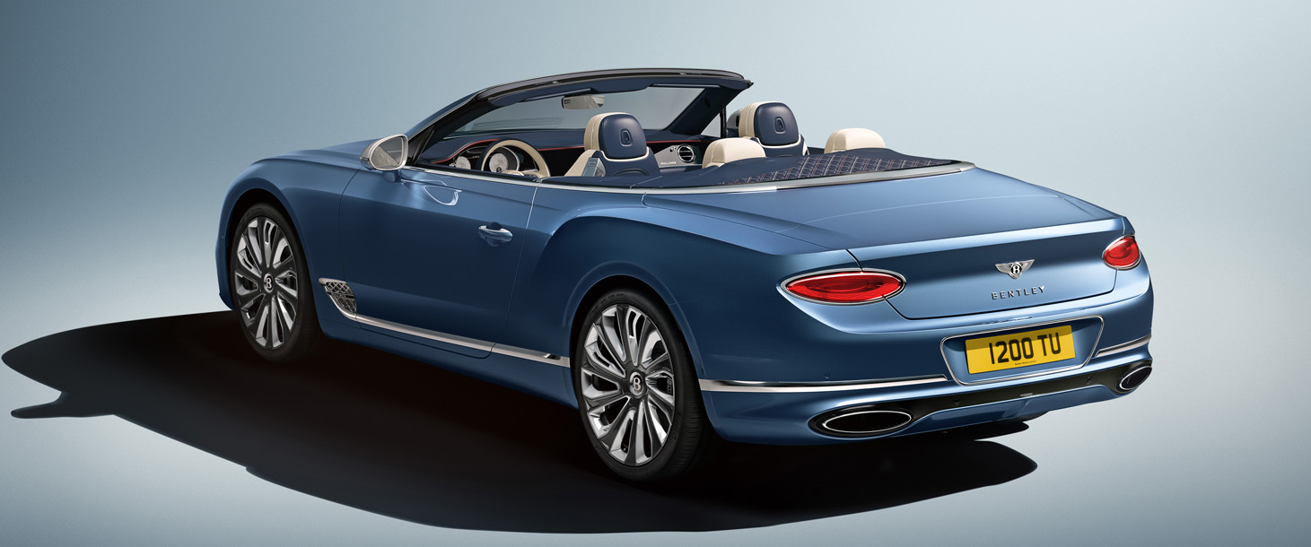 Bentley Continental Gt Convertible Ganha Versao Mais Luxuosa Da Mulliner All The Cars